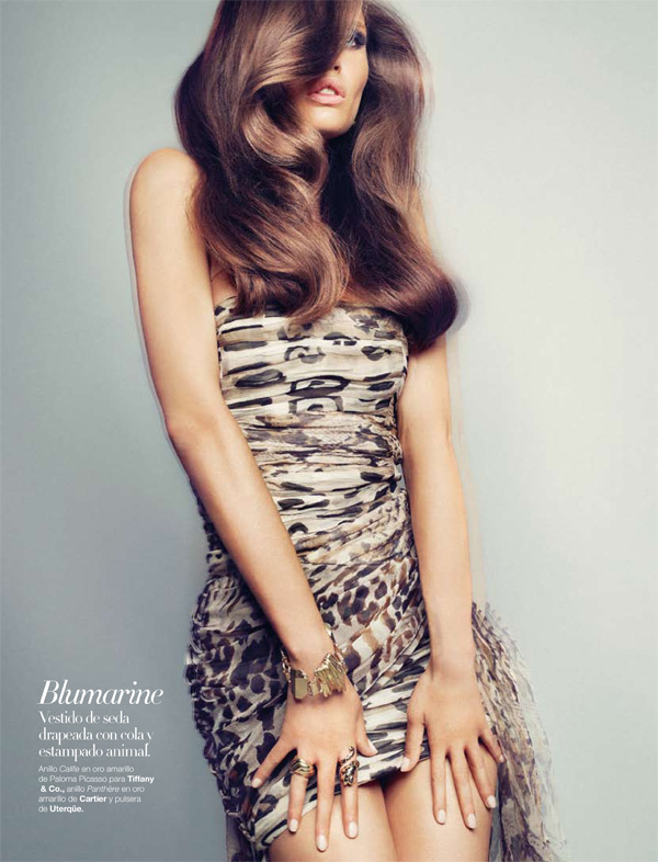 Harper's Bazaar España September 2010 Bianca Balti by Txema Yeste Fall 10