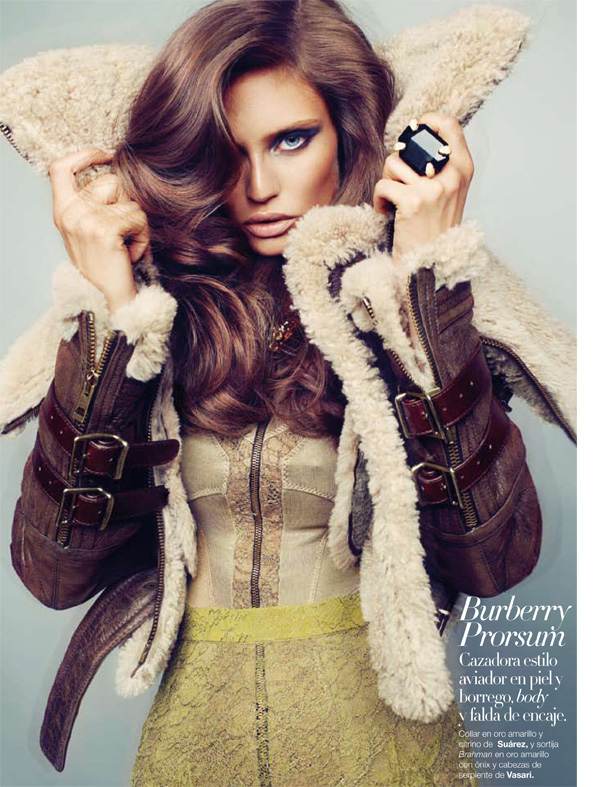 Harper's Bazaar España September 2010 Bianca Balti by Txema Yeste Fall 8