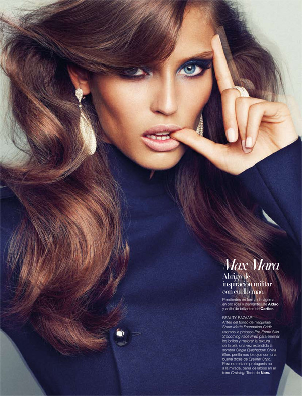 Harper's Bazaar España September 2010 Bianca Balti by Txema Yeste Fall 6